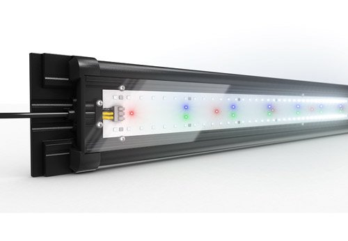 Rampe LED helialux spectrum pour aquarium