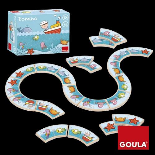 Domino animaux aquatiques